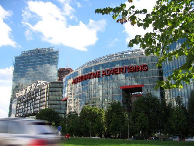 Alternative advertising - servicii publiciatre - producție publicitară - casete luminoase