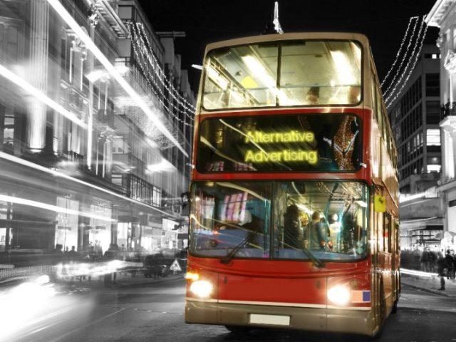 Alternative Advertising - servicii publicitare - campanii publicitare - publicitate de tranzit